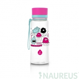 Láhev Equa Pink Monsters New, 400 ml
