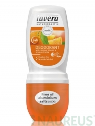 Kuličkový deodorant - Bio pomeranč-rakytník