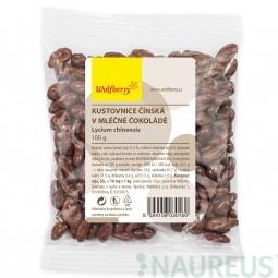 Goji v mléčné čokoládě 100 g Wolfberry