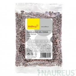 Himalájská sůl černá hrubá KALA Namak 250 g Wolfberry