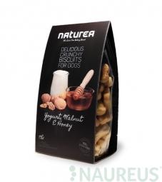 Sušenky - Jogurt, Vlašské ořechy a med