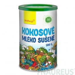 Kokosové mléko Sušené BIO 500 g Wolfberry PDZ *