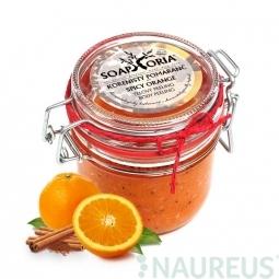 Pepřový pomeranč - organický solný tělový peeling