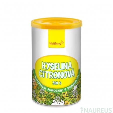 Kyselina citronová 350 g Wolfberry