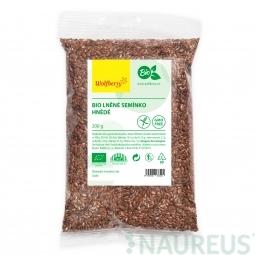 Lněné semínko hnědé BIO 200 g Wolfberry *