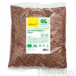 Lněné semínko hnědé BIO 500 g Wolfberry *