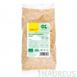 Lněné semínko zlaté BIO 500 g Wolfberry *
