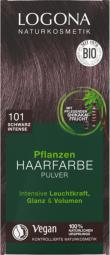 Prášková barva na vlasy - Black intense - 100g