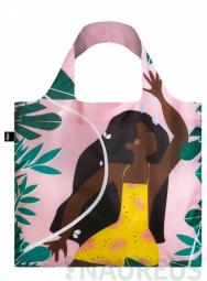 Nákupní taška LOQI Celeste Wallaert Joyful & Free