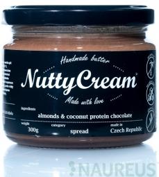 NuttyCream Mandle & Kokos s proteinem a čokoládou