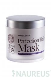 Vlasová maska na obnovu zničených vlasů - Dokonalost * Imperial Caviar *