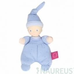 Mini panenka miláček 15 cm - Modrá