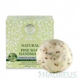 Přírodní ručně dělané mýdlo z borovice