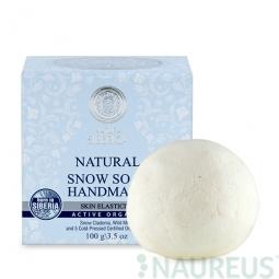 Přírodní ručně dělané mýdlo s Dutohlávkou sněžnou