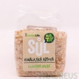 Sůl himálajská růžová hrubá 500 g