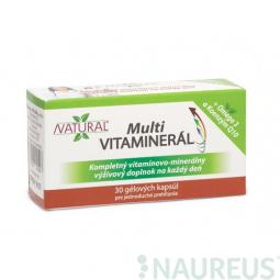 AKCE SPOTŘEBA: 09/2019 MULTI Vitaminerál - 30 kapslí