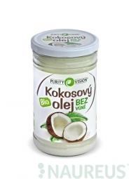 Kokosový olej bez vůně BIO 900 ml