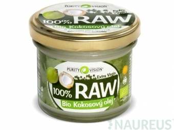 RAW kokosový olej 90 ml