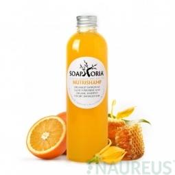 NutriShamp - organický tekutý šampon na suché, namáhané a poškozené vlasy