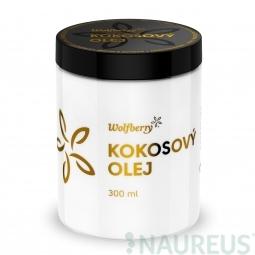 Panenský kokosový olej BIO 300 ml Wolfberry *