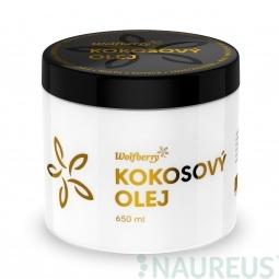 Panenský kokosový olej BIO 650 ml Wolfberry *
