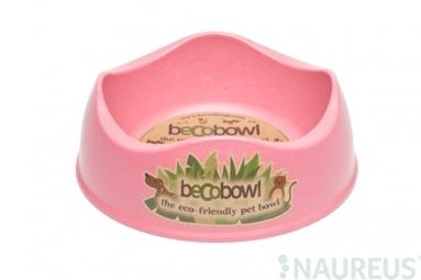 Pes pre-miska, BecoBowl, EKO-růžová-L