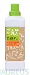 Prací gel z mýdlových ořechů s pomerančovou silicí 1 l (láhev)