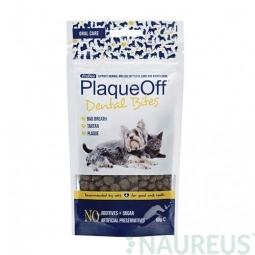 Doplněk výživy pro psy a kočky, Prodent PlaqueOff Dental Bites 60g