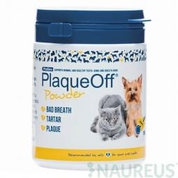 Doplněk výživy pro psy a kočky, Prodent PlaqueOff Powder 180g