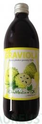 Šťáva Graviola 100% - 500 ml