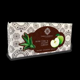Mýdlo Aloe vera a zelené jablko 115g