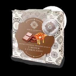 Mýdlo s medem a čokoládou 115g