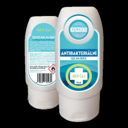 Antibakteriální gel na ruce - Bilý čaj 50ml