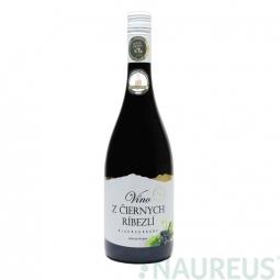 Víno z černého rybízu 0,75 l