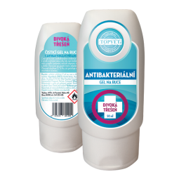 Antibakteriální gel na ruce - Divoká třešeň 50ml