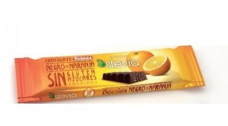 Tyčinka horká čokoláda s pomarančom 35 g