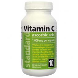 Vitamin C 1000 mg, 60 kapslí