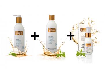Vyhlazující kondicionér + vyhlazující šampon + Sprej pro zářivý lesk ZDARMA