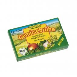 Zeleninový vývar bylinkový v kostce BIO 8 ks Rapunzel*