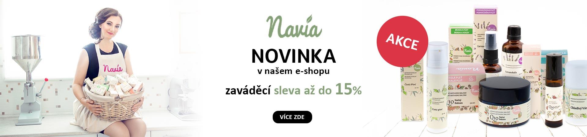 15% Sleva na celou značku Navia do 30.06.2019