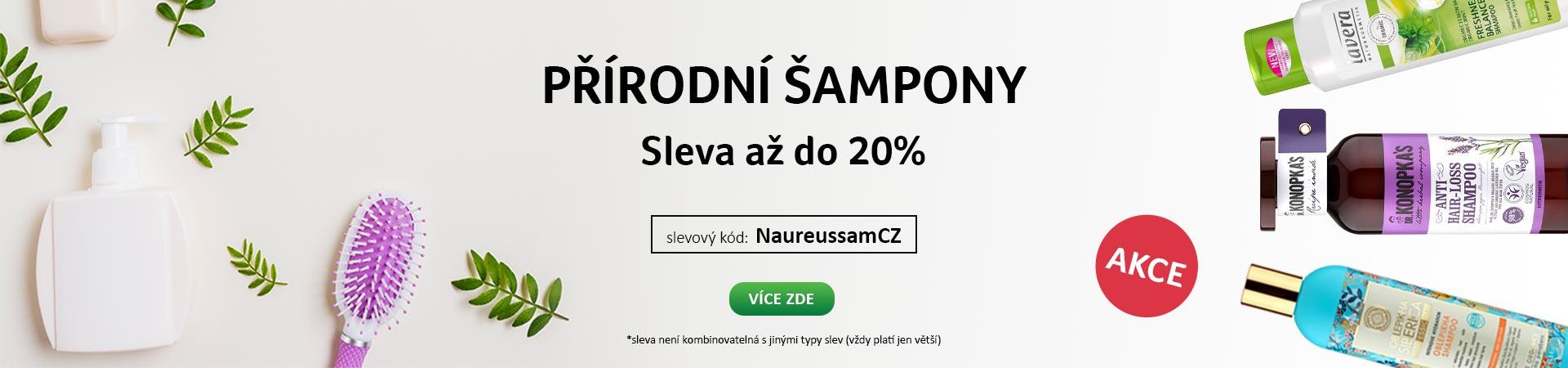 20% Sleva na Šampóny do 20.09.2020 + Doprava zadarmo s Liptavia a Ecohead