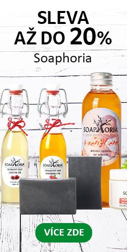 20% Sleva na všechny produkty Sopahoria + Doprava zadarmo s Ecohead a Liptavia