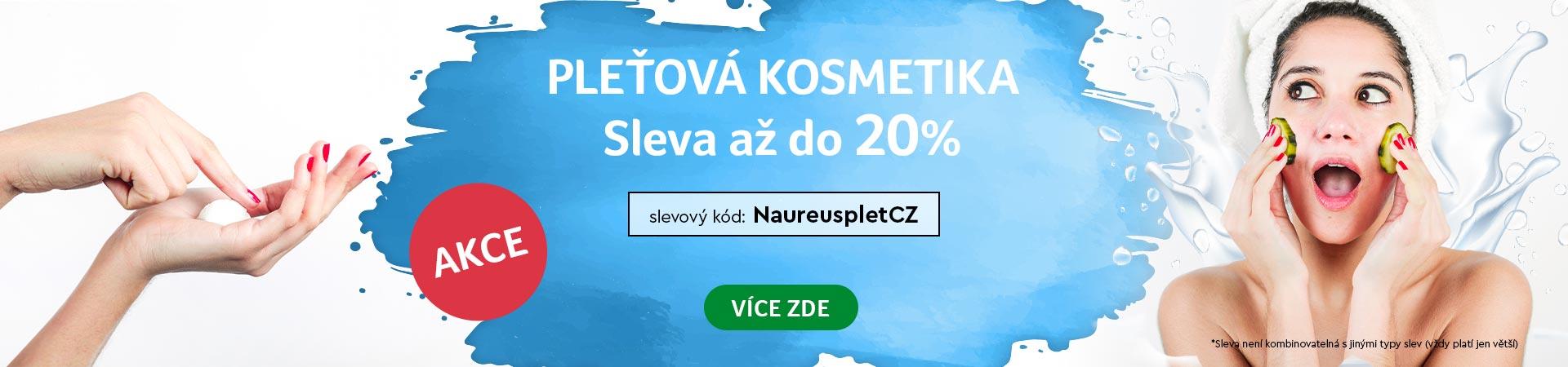 20% Sleva na pleťovou kosmetiku do 15.07.2020 + doprava zadarmo s Liptavia