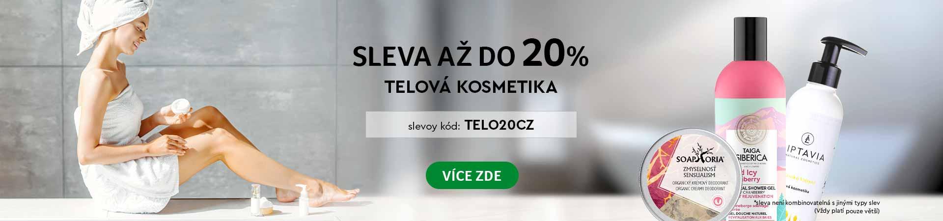 ✅ 20% na Telovou kosmetiku ✅ Kozmetika, potraviny, výživové doplnky ✅ Akcia do 03.12.2020