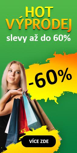 Podzimní výprodej až do 60% - čistíme sklady