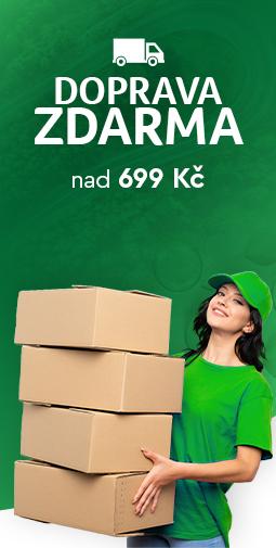 Doprava zadarmo nad 699 Kč do 27.09.2020