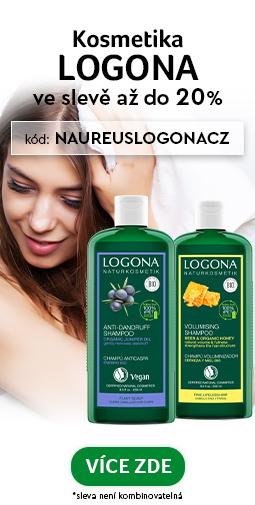 ✅ 20% Sleva na kosmetiku Logona do zítra 20.10.2020 ✅ + doprava zadarmo s vybranými značkami