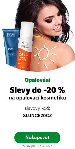 Opalovací kosmetika do -20%