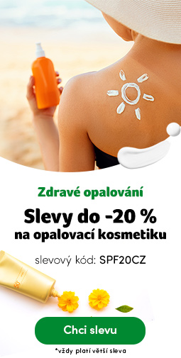 Opalovací kosmetika do -20% - kód SPF20CZ