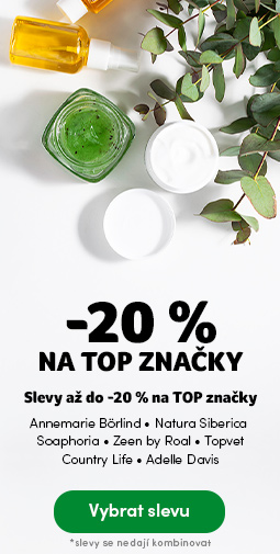 TOP značky ve slevě do -20%